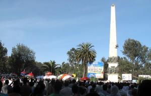 Multiple parades converge at Sidist Kilo
