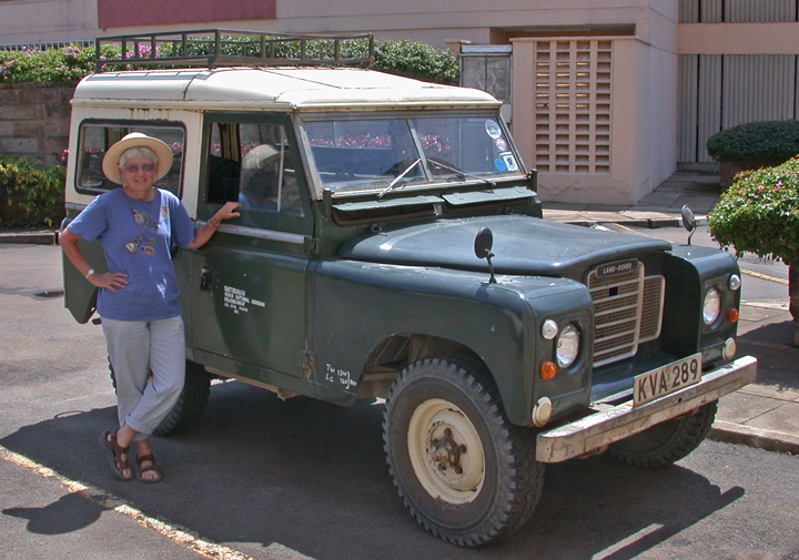 In 1973 and 1974 I ran my own sub-project, after buying a long-wheel-base land rover with Wenner-Gren Foundation funds; this vehicle is no more, sadly.  Driving your field own vehicle is definitely a major statement about being in charge, at least in Kenya!